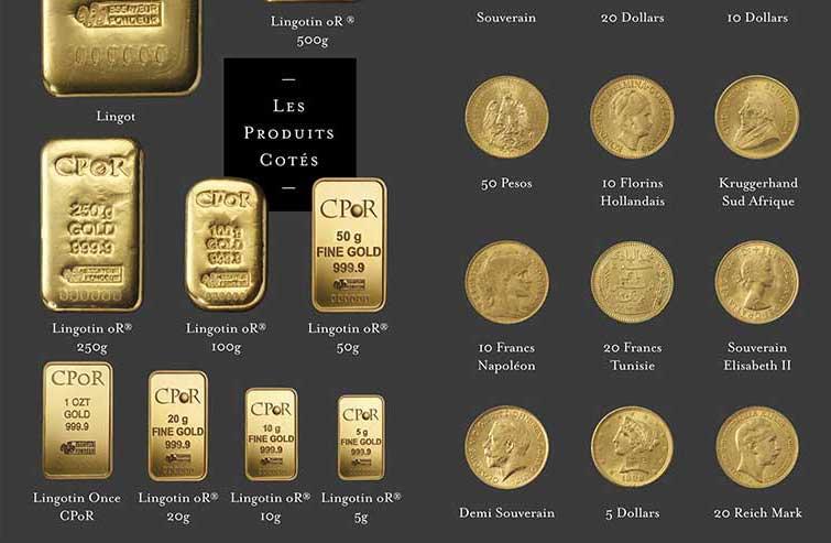 Où acheter des pièces d'or en Belgique ?