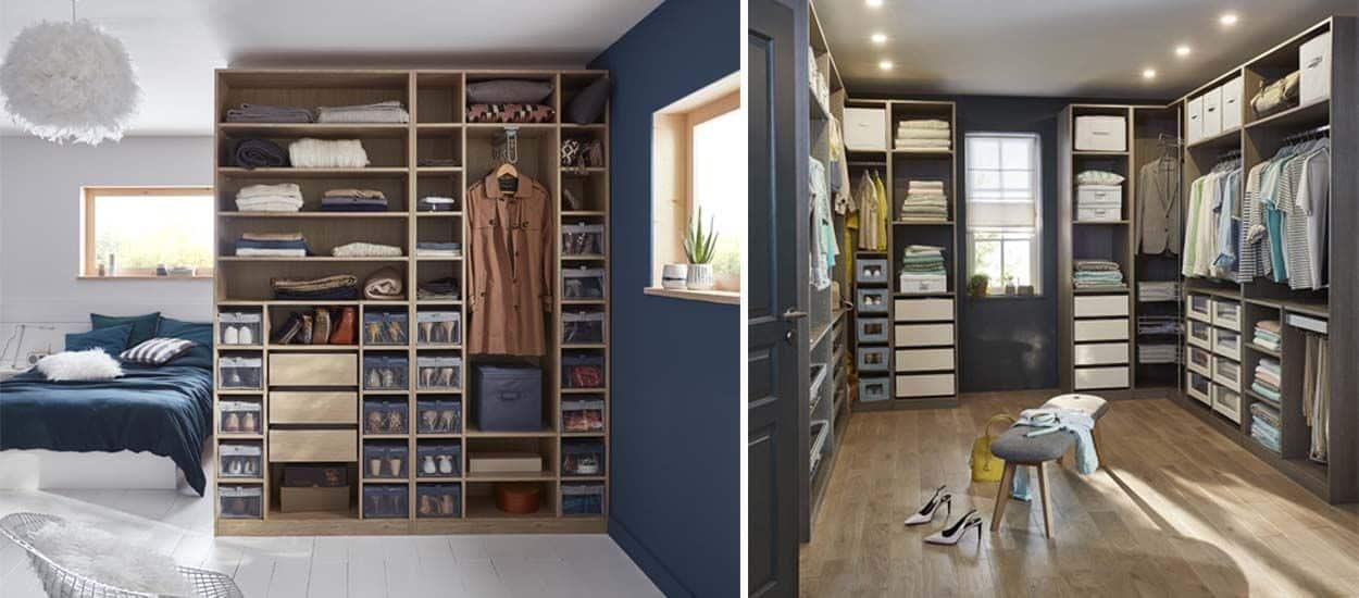 Quelle largeur pour un dressing couloir ?